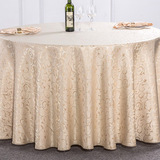 Morning glory tablecloth white (m)